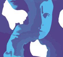 sense8 blue Sticker