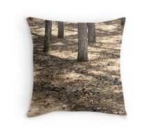 Simple Ground Cover Throw Pillow