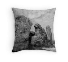 West Kennet Long Barrow #1 Throw Pillow