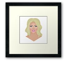 Courtney Act Framed Print