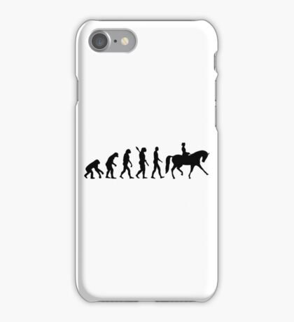 Evolution dressage iPhone Case/Skin