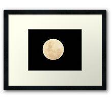 """""""Full Moon"""" Framed Print"""