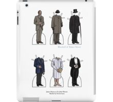 James Mason as Dr. Watson Paper Dolls iPad Case/Skin