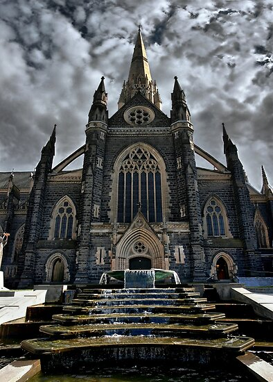 Cathedral #14 by Steven  Agius
