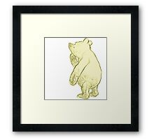 Silly Old Bear Textless Framed Print