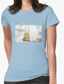 Travel Bug Bear / Bon Voyage Womens Fitted T-Shirt