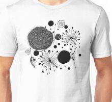 Black lace Unisex T-Shirt