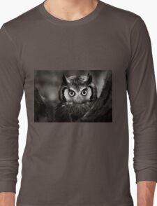 Whitefaced Owl Long Sleeve T-Shirt