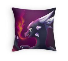 Cynder the Corrupted Cutie Throw Pillow