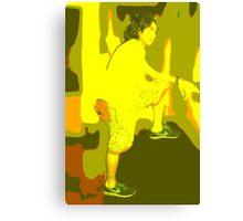 Colored Canvas Print