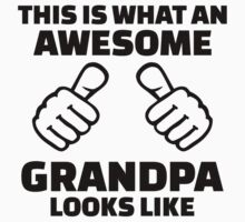 This is what an awesome grandpa looks like by Designzz