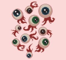 8bit eyeballs by Rosemary Black