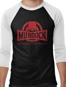 Murdock Gym (Vintage) Men's Baseball ¾ T-Shirt