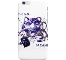 The Face Of Tardis iPhone Case/Skin