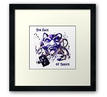 The Face Of Tardis Framed Print