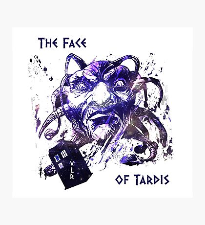 The Face Of Tardis Photographic Print