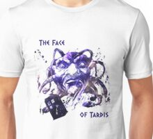 The Face Of Tardis Unisex T-Shirt