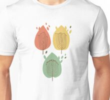 Decorative leaves. Autumn mood. Unisex T-Shirt