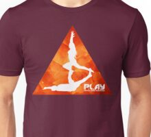 PLAY - Orange Trigon Unisex T-Shirt