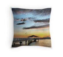Redcliffe Jetty Throw Pillow