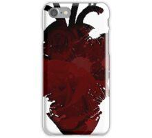 Rose Splatter Heart iPhone Case/Skin