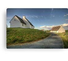 Inchiquin Cottages Canvas Print