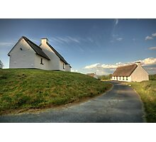 Inchiquin Cottages Photographic Print