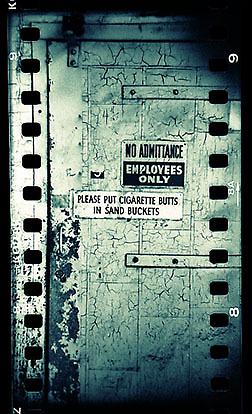 Door signs by Ralph Wilson