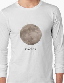 Home. moon tshirt Long Sleeve T-Shirt