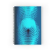 THE SWIMMER Spiral Notebook