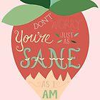 Luna Lovegood Just As Sane As I Am by DesignsByAND