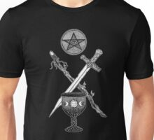 The Suits of the Tarot Unisex T-Shirt