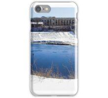 Baker's Falls in Winter iPhone Case/Skin
