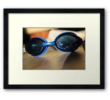 Swimmies~ Framed Print