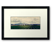 Mount Diablo - California Framed Print