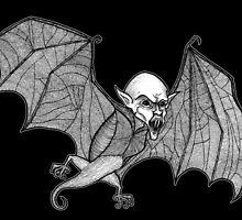 Vampire Bat by BettyRocksteady