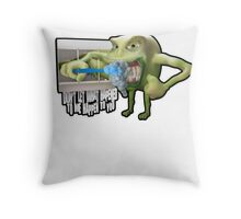 SmallMouth Throw Pillow
