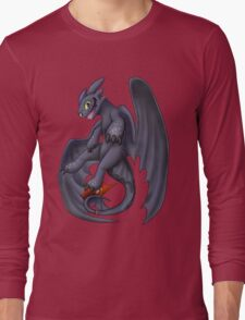 Playful Toothless Long Sleeve T-Shirt