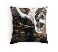 Arson Attack Throw Pillow