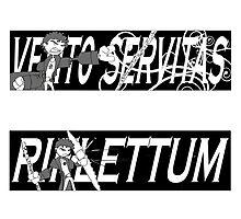 Dresden Files - Spells Sticker Pack (Black) by BasiliskOnline