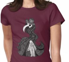 The Plague Doctor Womens Fitted T-Shirt