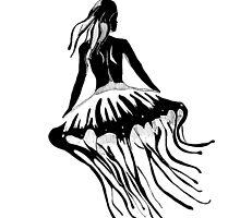 Jellyfish Girl by lazyvangogh