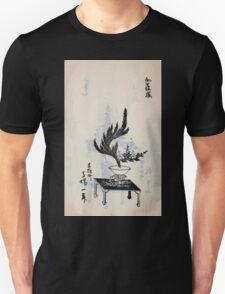 Yenshu ryu ikebana hiak bin no zu shiki konzatsu Flower arrangement in the Enshu style V2 1897 0034 T-Shirt