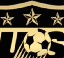 Big New USWNT Black & Gold Logo Sticker