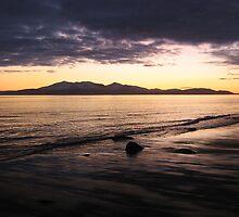 Arran Sunset by Kareena  Kapitzke