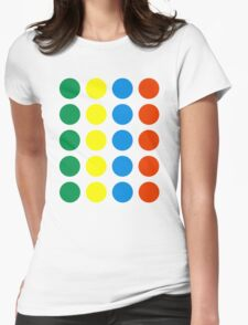 Twister Womens Fitted T-Shirt