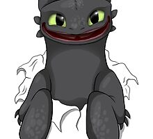 Curious Toothless by FULIK8