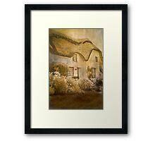 Cottage at Coverack Framed Print