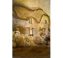 Cottage at Coverack Photographic Print