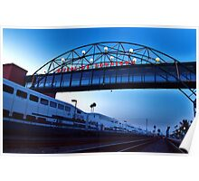 Riverside MetroLink Station, Calfornia Poster